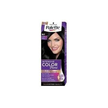 Palette Intensive Color Creme barva na vlasy N1 intenzivní černý 50 ml
