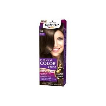 Palette Intensive Color Creme barva na vlasy N3 středně hnědý 50 ml