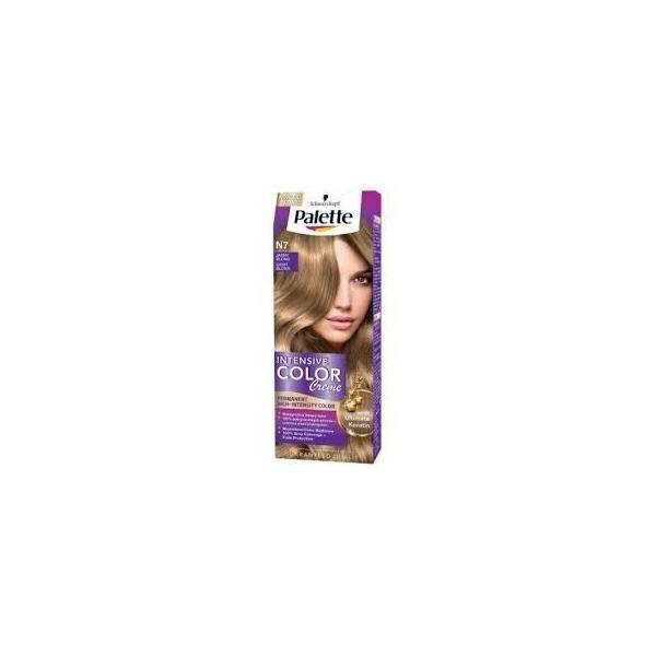 Palette Intensive Color Creme barva na vlasy N7 světle plavý 50 ml