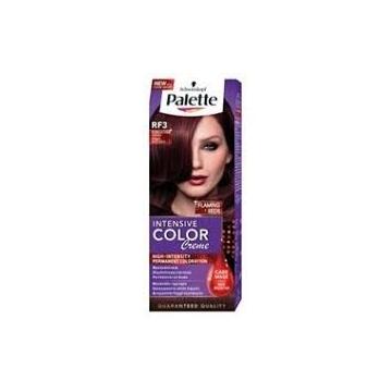 Palette Intensive Color Creme barva na vlasy RF3 intenzivní tmavě červený 50 ml