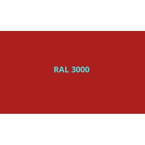 Univerzální akrylový email červená ohnivě lesklá RAL 3000, sprej 400 ml