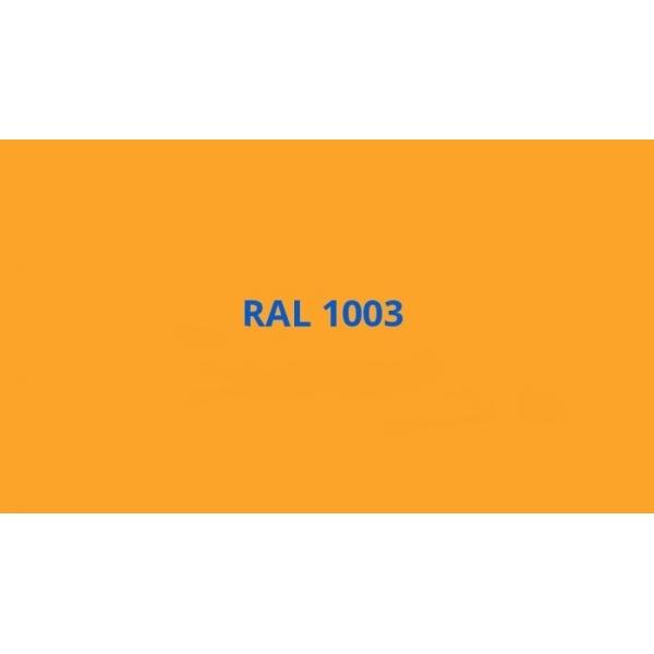 Univerzální akrylový email žlutá signální RAL 1003, sprej 400 ml