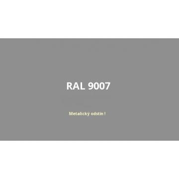 Univerzální akrylový email šedý hliník RAL 9007, sprej 400 ml