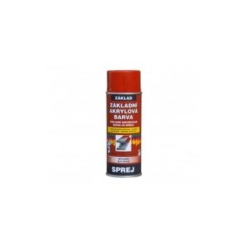 Základní akrylátová barva červenohnědá, sprej 400 ml