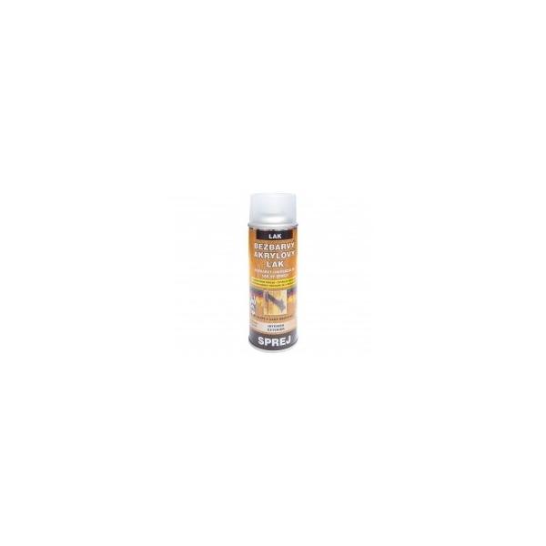 Bezbarvý akrylový lak lesklý 400 ml