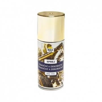 Dekorační barva zlatá sprej 150 ml