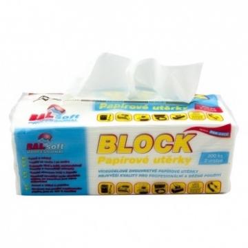 Papírové utěrky ZZ block
