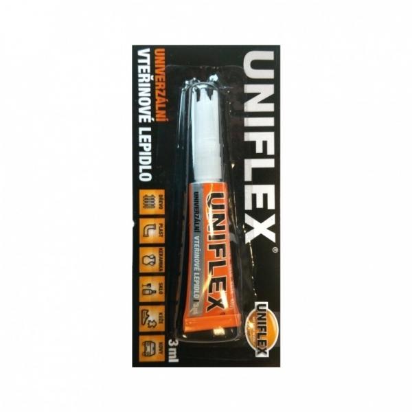 Vteřinové lepidlo Uniflex 3 ml