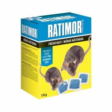 Ratimor měkká nástraha na hlodavce 150 g