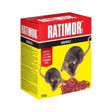 Ratimor granule nástraha na hlodavce 150 g