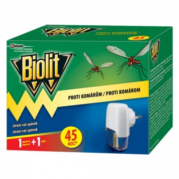 Biolit proti komárům elektrický odpařovač 45 nocí