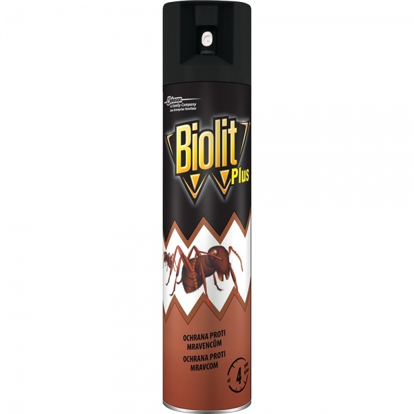 Biolit Plus sprej proti mravencům 400 ml