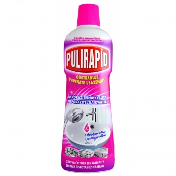 Pulirapid Aceto tekutý čistič s přírodním octem, 750 ml
