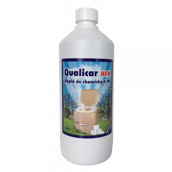 Qualicar náplň do chemického WC 1 l