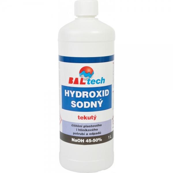Hydroxid sodný k čištění odpadů, tekutý 1 l