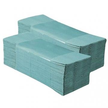 Papírový ručník Z-Z zelený